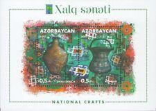 2017 Azerbaijan Cultures & Ethnicities Rcc National Crafts Copper jug Mnh