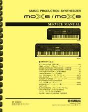 Yamaha MOX8 MOX6 Synthesizer SERVICE MANUAL