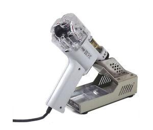 220V Dual Pump Electric Desoldering Gun Vacuum Pump Solder Sucker Gun S-998P