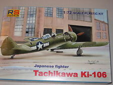 1/72 Scale RS Models Tachikawa Ki-106 Japanese Fighter