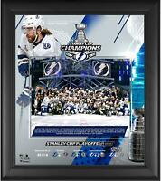 "Tampa Bay Lightning 2020 Stanley Cup Champions Framed 15"" x 17"" Collage"