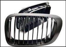 2 GRILLE CALANDRE NOIR BMW E46 SERIE 3 BERLINE 98-01 320 330 D 320D 330D