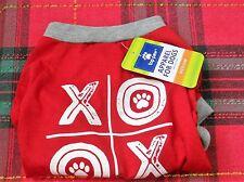Dog Puppy clothes RED Medium NEW