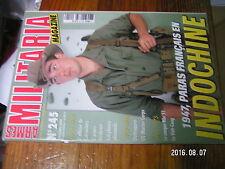 1µ? Revue Armes Militaria n°245 Opé Léa Paras français en Indo Viet-Cong 1956-75
