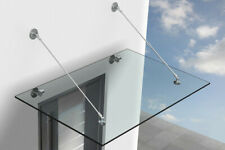 Glass Canopy Stainless Steel Mount Holders Kit(No Glass)