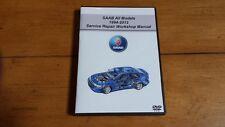 SAAB ALL MODELS Service Repair Workshop Manual OEM (software) DVD-ROM,,,,