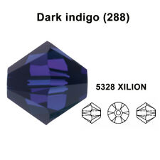 Swarovski 5328 XILION Crystal Bicone Beads Jewelry Making *U Pick Size & Colors*