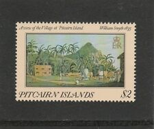 "PITCAIRN ISLANDS - 1985 - PAINTINGS $2 - 1835 ""DATE ERROR"" - (1V) - UM / MNH"