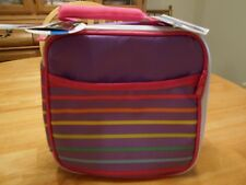 Arctic Zone Insulated Insulated Lunch Box - Striped - Set- Containers and Ice Pk