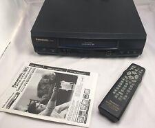 New listing Panasonic Pv-9400 Vcr Vhs w/Remote & Manual