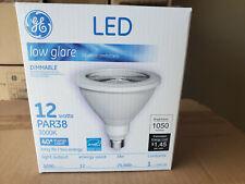 GE 92973 | 12W LED PAR38 3000K I Dimmable Low Glare I 1050 lm 40 Degree Flood