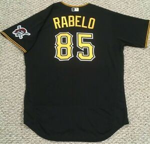 RABELO #85 size 48 2020 PITTSBURGH PIRATES Black alt game Jersey issued MLB