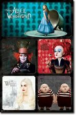 Fantasy Movie Poster Alice in Wonderland Group