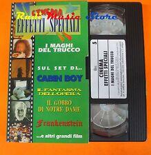 film VHS CINEMA EFFETTI SPECIALI I MAGHI DEL TRUCCO 1995  (F71)  no dvd