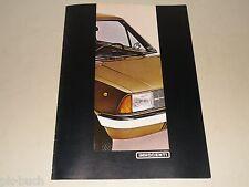 Pubblicità AUTO prospetto Leyland Innocenti 90 L/De Tomaso, stand 03/1980