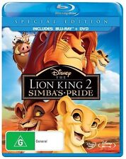 The Lion King 2 - Simba's Pride (Blu-ray,  2-Disc Set)