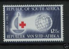 South Africa 1963 SG#226 12.5c Red Cross MNH
