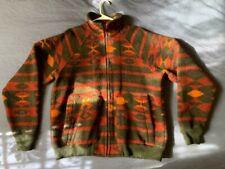 Men's vintage Woolrich southwestern navajo aztec blanket wool jacket size L