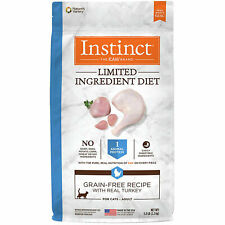 Nature's Variety Instinct Limited Ingredient Grain Free Turkey Dry Cat Food 5 lb