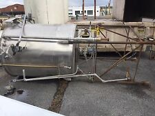 Chem-Tech Stainless Steel Tank  Has Lid  533 Gallon OVS Capacity Good Condition