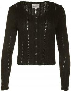 Damen Trachtenjacke Beppa von Marjo Strickjacke Dirndljacke in schwarz,XS bis L