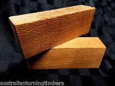 North Queensland Silky Oak Wood Knife Blocks (Scales)