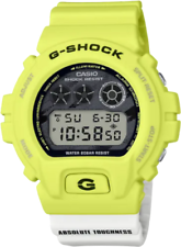 "Casio G-shock ""absoluta dureza"" DW6900TGA-9 relámpago amarillo 2020 Nuevo"