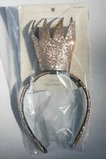 Girl Princess Crown Headband Birthday Party One Size Gold *New*