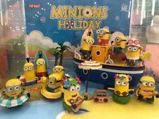 Authentic 2020 Minions holidays universal 12pcs toy collection figure box set