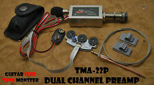 TONE MONSTER TMA-22P Acoustic Guitar End Pin Preamp UST & Condenser Microphone