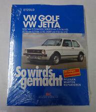 Reparaturanleitung So wirds gemacht VW Golf I / Scirocco / Jetta / Caddy ab 1974