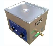 10L Ultrasonic Cleaner with Heater  240W Jewelry Watches Dental & Tattoo