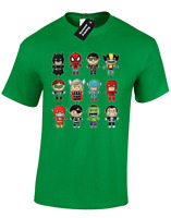 BABY SUPERHEROES KIDS T SHIRT CUTE IRON AVENGER HULK THOR MAN COMIC COOL BOYS