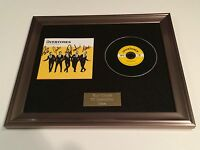 SIGNED/AUTOGRAPHED THE OVERTONES - SWEET SOUL MUSIC FRAMED CD PRESENTATION.