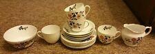 Victoria China 4 place setting tea set, made in Czechoslovakia, 14 piece.
