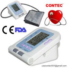 monitor de presión arterial digital automático del brazo superior LCD máquina