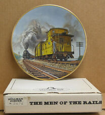 """Christian Bell Collector Plate """"Brief Encounter"""" Plate #4597"""