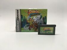 SCOOBY-DOO AND THE CYBER CHASE - GAMEBOY ADVANCE GAME AND MANUAL