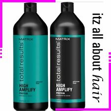 Matrix Total Results High Amplify Shampoo and Conditioner 1 Litre Duo Pack