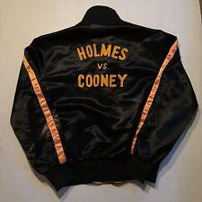 Rare Vintage 1982 Caesars Palace Holmes Vs Cooney Limited Edition Satin Jacket