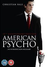 AMERICAN PSYCHO        BRAND  NEW SEALED GENUINE UK DVD