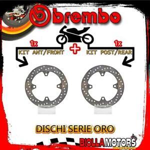 BRDISC-1177 KIT DISCHI FRENO BREMBO KEEWAY OUTLOOK 2008- 125CC [ANTERIORE+POSTER