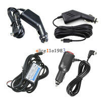 For Car DVR GPS Mini USB DC 5V 2A Power Charger Adapter Cord Cable 3m 3.5m
