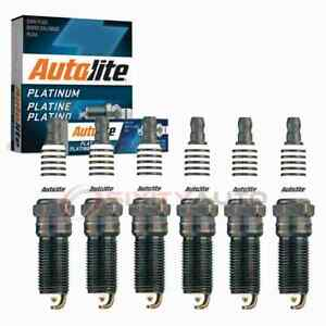 6 pc Autolite Platinum Spark Plugs for 2007-2010 Ford Edge Ignition dy