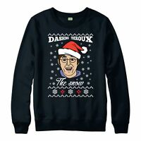 Justin Theroux Christmas Jumper, The Snow Funny Xmas Festive Gift Jumper Top