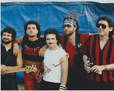 BUCK DHARMA + ERIC BLOOM Blue Oyster Cult SIGNED 8X10 Photo b