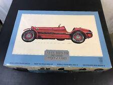 Pocher Alfa Romeo 1931 8C 2300 Monza 1/8 Scale Model Kit