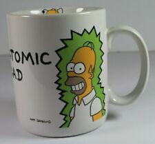 Vintage - Atomic Dad Coffee Mug - The Simpsons - Homer Simpson 1990