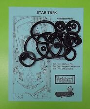 Stern Star Trek pinball rubber ring kit (ALL VERSION)