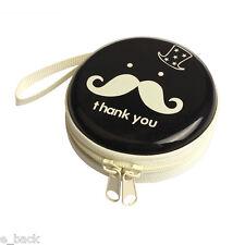 New listing Mini Zipper Earphone Headphone Headset Box Bag Sd Card Carrying Pouch Storage B